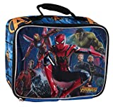 Marvel Avengers Character Lunch Bag (Blue Avengers)