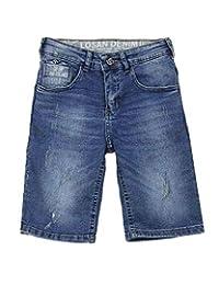 Losan Boys Denim Shorts in Distressed Look, Sizes 8-16