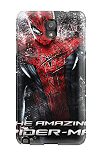 Cute Appearance Cover/tpu UJpdVJZ15539SrDvx The Amazing Spider-man 9 Case For Galaxy Note 3