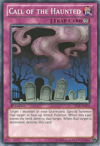 Haunted Deck - Yu-Gi-Oh! - Call of the Haunted (YS12-EN036) - Starter Deck: XYZ Symphony - 1st Edition - Common