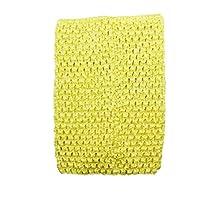 "Wholesale Princess 6"" Crochet Tutu Top (Yellow)"