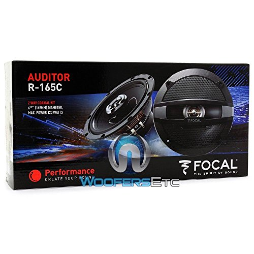 pkg Focal Auditor R-165S2 6.5'' 120W RMS 2-Way Component Speakers and Focal Auditor R-165C 6.5'' 120W RMS 2-Way Coaxial Speakers by Focal (Image #8)