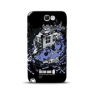 Diabloskinz D0091-0067-0037 Police Box Vortex - Carcasa para Samsung Galaxy Note 2, diseño de la serie Doctor Who