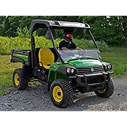 SuperATV Heavy Duty Scratch Resistant Half Windshi