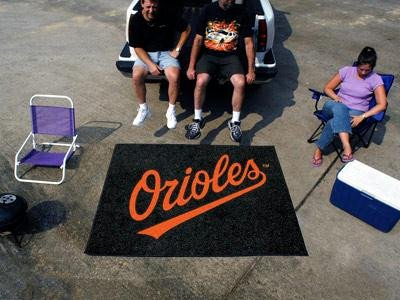 (Fan Mats Baltimore Orioles Tailgater Rug, 60