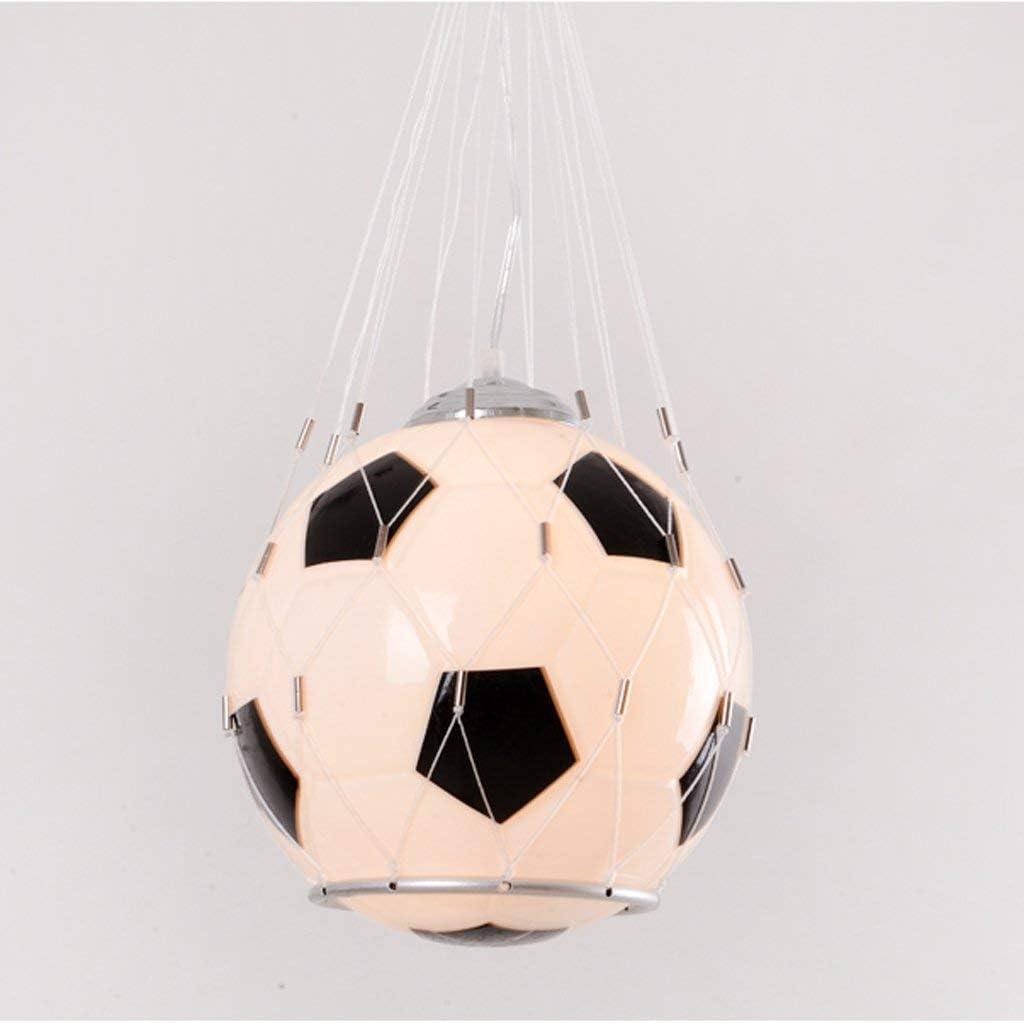 ZSLLO Elegante lampadario da Calcio Minimalista E27