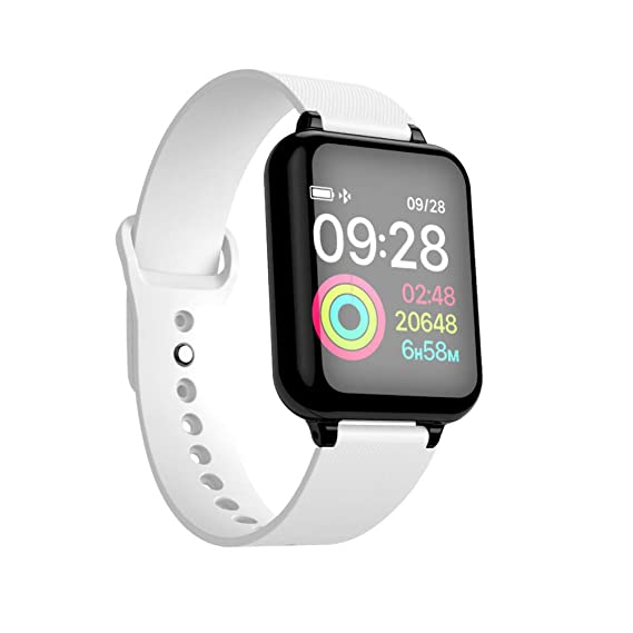 SZPZC-A Hombres Mujeres Smartwatch Monitor De Ritmo Cardíaco ...