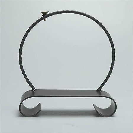 お香バーナーヨガ美容装飾ビスケット白磁工芸木製椅子鉄リングタワー香サンダルウッド逆流ストーブ家の装飾,型枠