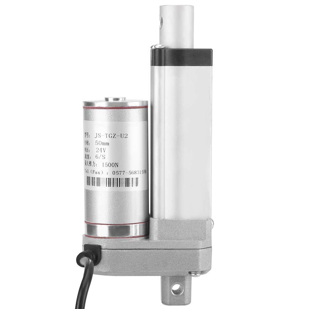 250mm 300mm 150 KG 330 libras de peso pesado m/áximo Motor para automatizaci/ón m/édica Multifunci/ón 12v DC Peque/ño actuador lineal Cilindro Movimiento de elevaci/ón 50//100//150//250