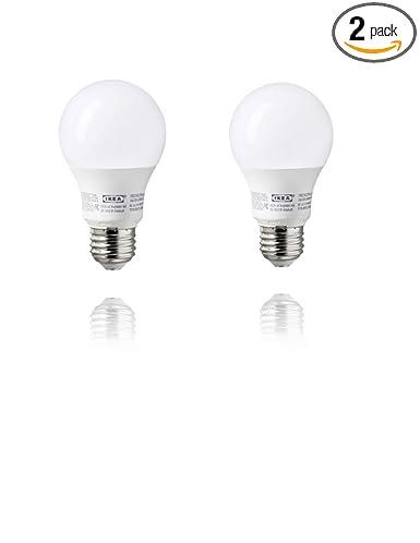 Amazon.com: Ikea E26 LED Light Bulb 400 Lumen (2 Pack): Home Improvement