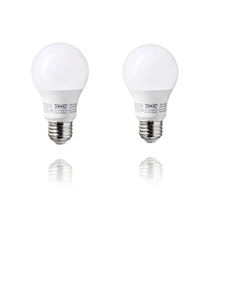 Amazon.com: Ikea E26 LED Light Bulb 400 Lumen (2 Pack): Home ...