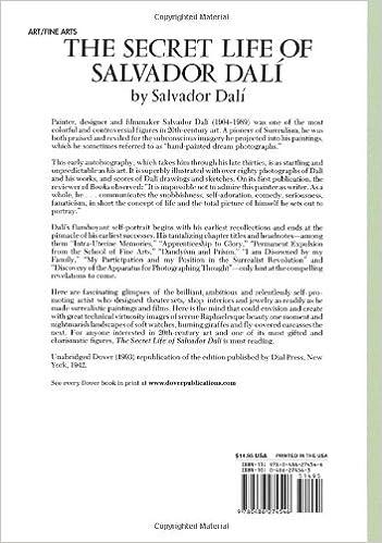 books written by salvador dali