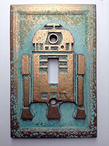 Star Wars (R2D2) Light Switch Cover (Patina) ()