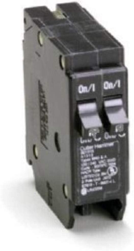 NEW CUTLER HAMMER BR1520  CIRCUIT BREAKER 15//20 AMP TWIN POLE 120//240 VAC