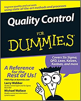 815d4d931 Quality Control for Dummies: Amazon.co.uk: Larry Webber ...