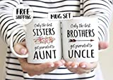 Only the best sisters get promoted to aunt, brothers get promoted to uncle