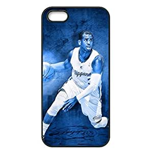 LA Clippers Chris Paul Image Design Apple iPhone 5/5s TPU Case-by Allthingsbasketball