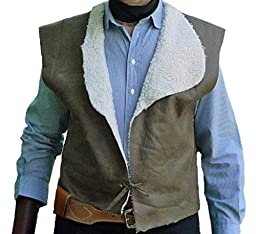 StraightLine mens Clint Eastwood Western Cowboy Vest XX-Large Multicoloured