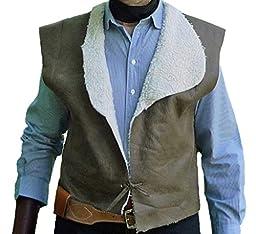 StraightLine mens Clint Eastwood Western Cowboy Vest X-Large Multicoloured