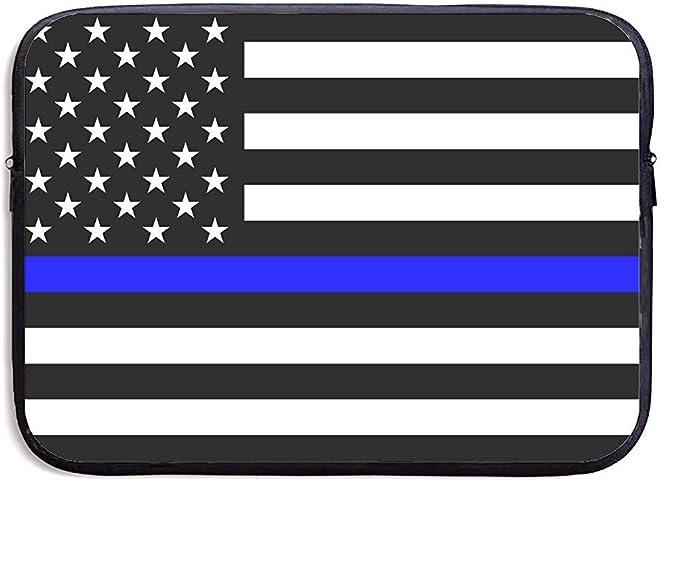 Funda Protectora con Delgada línea Azul Blue Lives Matter Flag.PNG Se Adapta a computadora portátil, Tableta: Amazon.es: Electrónica