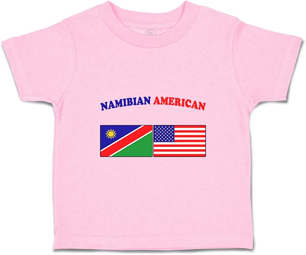 Custom Baby /& Toddler T-Shirt Namibian American Cotton Boy Girl Clothes