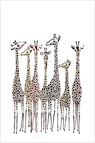 journal giraffes 6x9 dot journal journal with dotted pages animals dot journal series premise content 9781546692102 amazoncom books