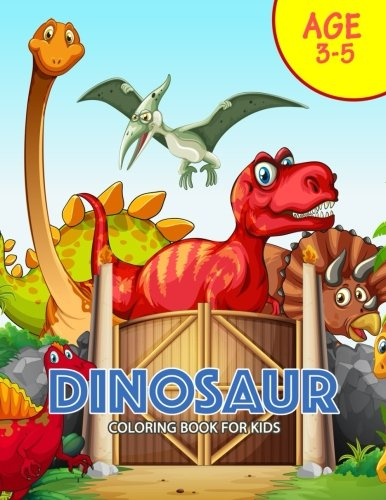 Download DINOSAUR Coloring Book for Kids: Activity book for boy, girls, kids Ages 2-4,3-5,4-8 ebook