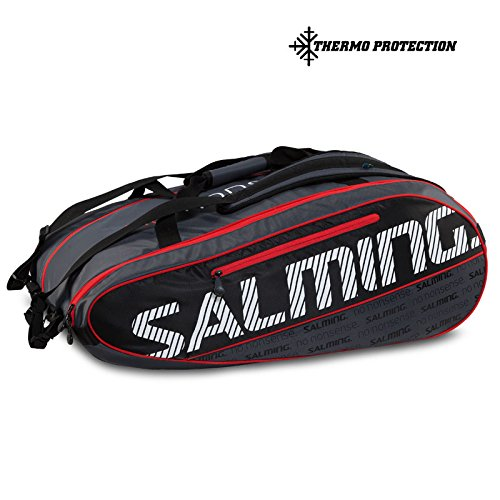 Salming ProTour12R Racquet Bag - Black/Red