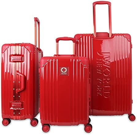 J World New York Nova Hard-side 3 Piece Spinner Luggage Set