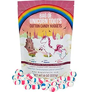 Bag Of Unicorn Toots Half Pound Of Candy Funny For All