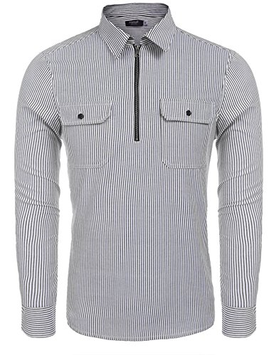 Long Sleeve 1/4 Zip Pullover - 5