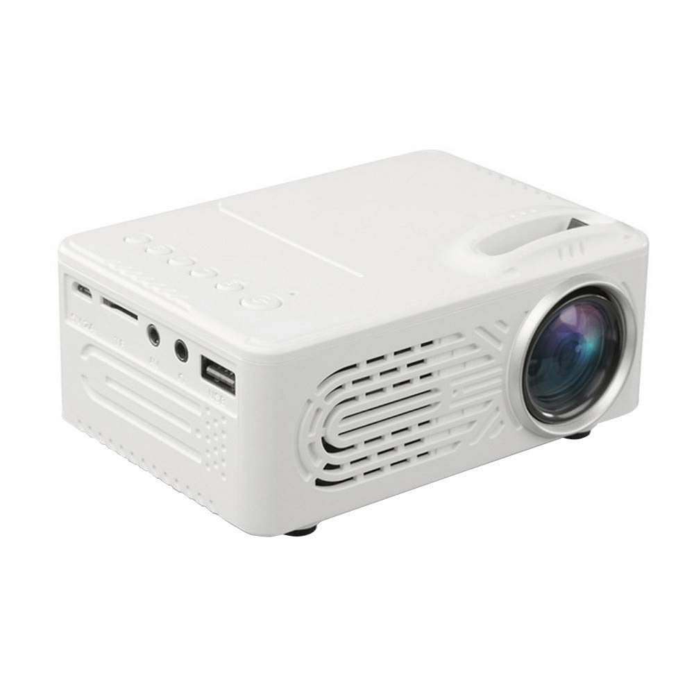 7000Lumens Full HD 1080P LED 3D VGA AV SD USB Home Theater Projector Cinema US