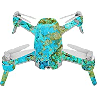 Skin For Yuneec Breeze 4K Drone – Teal Marble | MightySkins Protective, Durable, and Unique Vinyl Decal wrap cover | Easy To Apply, Remove, and Change Styles | Made in the USA