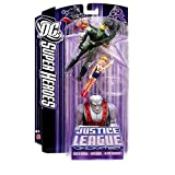 : DC Super Heroes Justice League Unlimited Action Figure 3-Pack with Green Arrow, Supergirl & Ultra Humanite [Purple Card]
