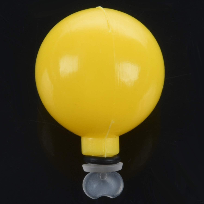 Katigan 5 Pezzi Airlock Strike Indicatore di Pesca Un Mosca Bobber High Durable Plastic Super Visible Terminal Tackle-0.75 Pollici