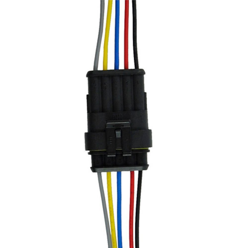 Mintice/™ 4 Pin Way Car Auto Waterproof Electrical Connector Plug Socket Kit with Wire AWG Gauge Marine
