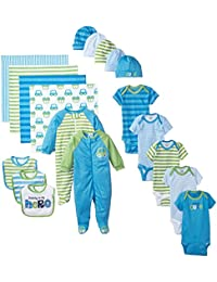 Gerber Baby Boys' 19 Piece Essentials Gift Set