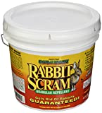 Enviro Pro 11006 Rabbit Scram Repellent Granular White Pail, 6 Pounds