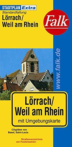 Falk Stadtplan Extra Standardfaltung Lörrach/Weil am Rhein Landkarte – 5. Dezember 2011 OSTFILDERN 3827920027 Baden-Württemberg Karte; Stadtplan