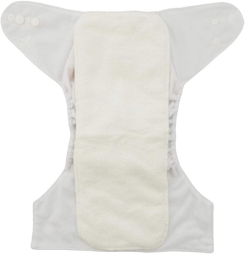 Boats 4 Diapers One Size 4 Microfiber Inserts 5-15kg Pocket Diaper Set Adjustable in Sizes