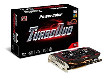 PowerColor AMD Radeon R9 280X OC 3GB GDDR5 DVI/HDMI/2Mini DisplayPort  PCI-Express Graphics Card AXR9 280X 3GBD5-T2DHE/OC