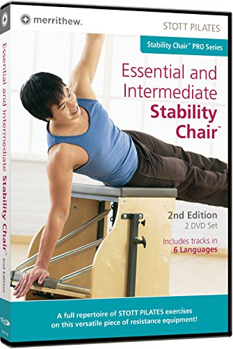 STOTT PILATES Essential and Intermediate Stability Chair 2nd Edition (6 Languages)