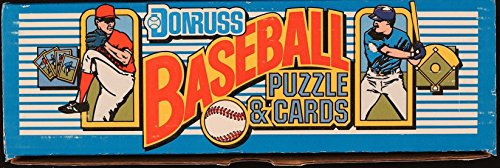 - 1989 Donruss Complete Set (MLB - Baseball - 672 Cards + Puzzle - Ken Griffey Jr. RC) (Factory Sealed)