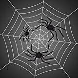 Y-STOP Halloween Giant Spider Plush Scary Spider