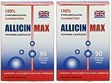 ALLICINMAX Allicin Max 100% Pure Allicin 90vcaps (2 Pack)