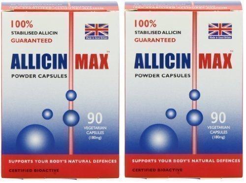 ALLICINMAX Allicin Max 100% Pure Allicin 90vcaps (2 Pack) by Allicin (Image #8)
