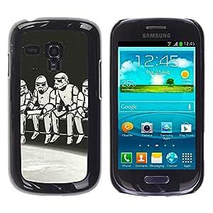 Stuss Case / Funda Carcasa protectora - Strom Trooper Almuerzo - Iconic - Samsung Galaxy S3 MINI 8190
