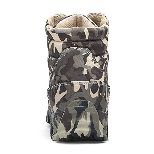 Combat Boot WILD Duty Tactical HAN Boots Work Military Men's Lightweight Grey 4xzaq
