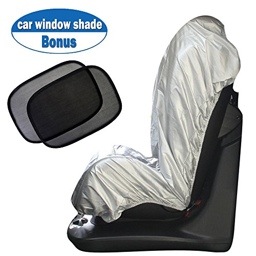 Big Ant Car Seat Sun Shade Covers, Infant Car Seat UV Protection Cover Protector, Bonus Car Window Sun Shade Keep Baby Toddler Cool and Safety