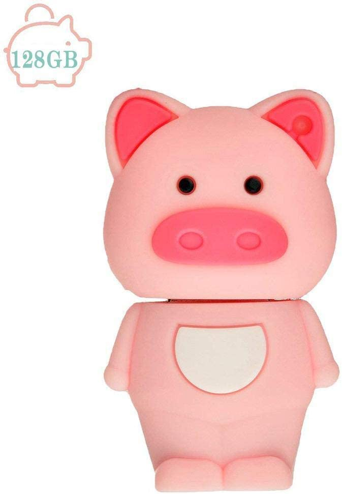 Yiiena Mini Cute Pig Shape USB 2.0 Flash Drive Memory Stick Pen Drive for Storage Files USB Flash Drives